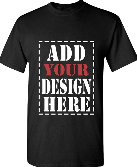 0c2b187e Design Your Own Shirt Customized T Shirt Add your Picture Photo DIY T Shirts  Both Frant Side and Back Side Can be Printed