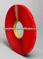 3/4inX33M 3M VHB tape 4910 Clear for glass,metal,1.0mm Free shipping