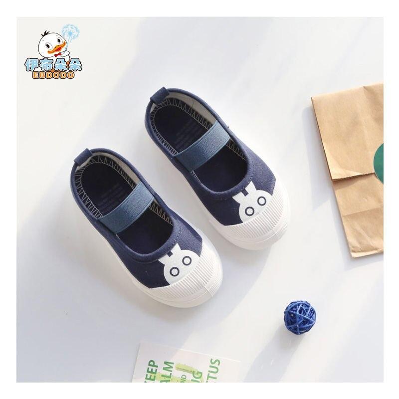 Ebdodo 2018 Kinderen Schoenen Canvas Schoenen Mode Cartoons - Kinderschoenen - Foto 2