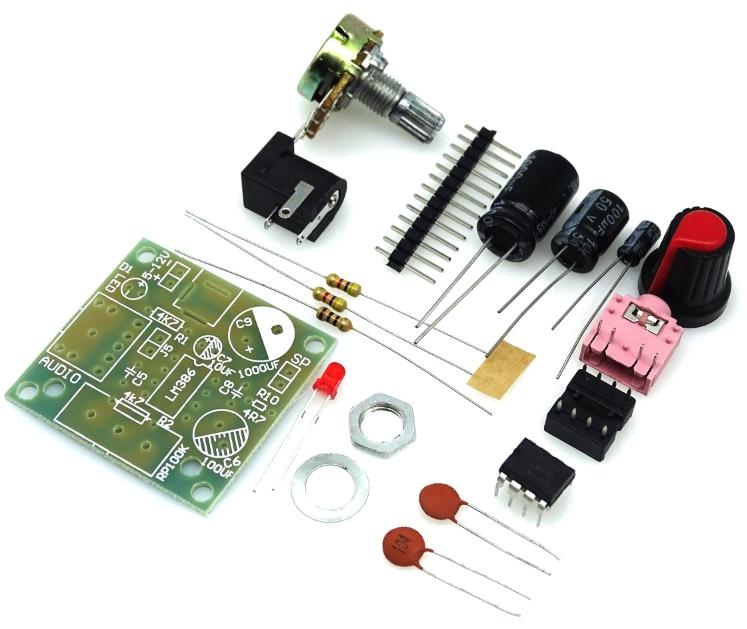 2017 New 1PCS LM386 Super Mini Amplifier Board Module 3V-12V DIY Kit Perfect new 1pcs dd151n14 module