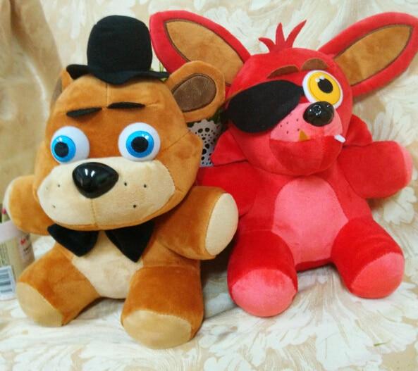 Free shipping  fox bear  kid  toys plush dolls which kids love stuffed soft toys 25cm high