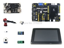 module Cubieboard2 Pack C A20 ARM Cortex A7 Dual Core Mini PC + DVK522 expansion Board + 7 modules