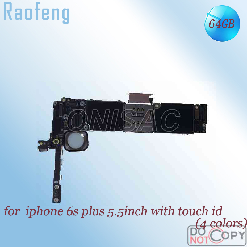 Raofeng iPhone 64GB with Touch-Id-Mainboard for 6s Plus Unlocked Chips Disassemble