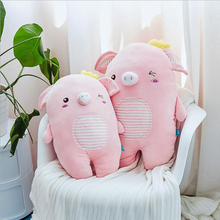 цена на Lovely Pink Little Pig Plush Toy Stuffed Animal Doll Soft Plush Pillow Cushion Children Birthday Gift