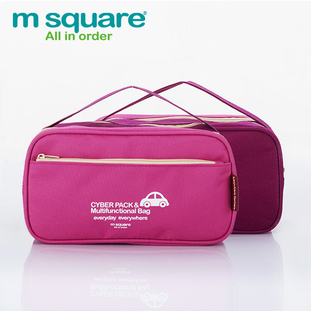 M Square Travel Beautician Makeup Bag Cosmetic Bag Organizer Wash Toiletry Bag Necessaries Make Up Bag Neceser Maquillaje