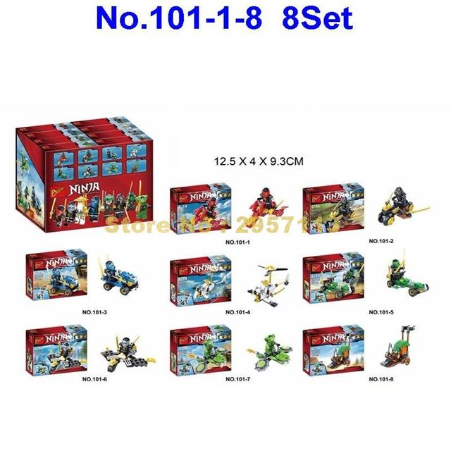 US $15 88 |Bozhi 101 109 8pcs Super Heroes Ninja Combination 2 In 1  Building Blocks Brick Toy-in Blocks from Toys & Hobbies on Aliexpress com |