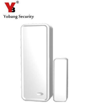 Yobang Security 433Mhz Sensors&Alarms Contact ,Wireless Door open/close sensor,TWO-WAY Wireless Door/window magnet sensor