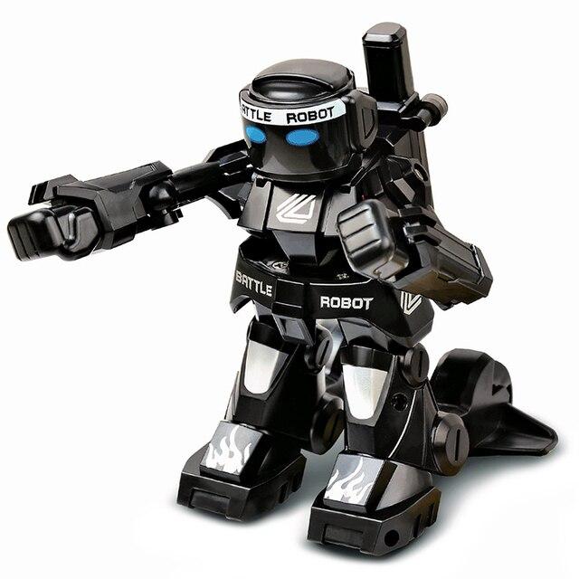 USB Gadgets Battle RC Robot Lichaam Gevoel Mini Size Afstandsbediening Figuur Speelgoed Met Boksen Geluid Kids Gift Toy Model 2