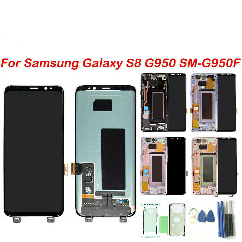 For Samsung Galaxy S8 G950F LCD Display Touch Screen Digitizer Replacement