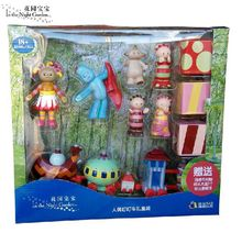 kingtoy In The Night Garden Series baby Toy Doll Children Plastic Ninky Nonk ding Car In The Night Garden Musical Toy Set/box