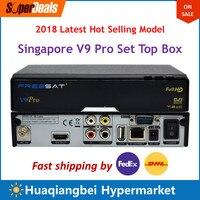 Сингапур hd ТВ Декодер каналов кабельного телевидения Starhub V9 Pro с WI FI ключ обновление serivce для V8 и V8 золотой доступны
