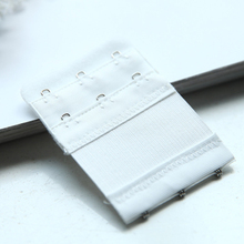 3pcs Women Bra Strap Extender 2 Rows 3 Hooks Nylon Bra Extenders Elastic Adjustable Clasp Bar Strap Connector Bra Accessories
