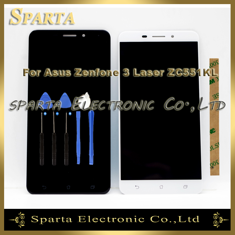 For ASUS ZenFone 3 Laser ZC551KL LCD Display With Touch Sensor Complete Assembly