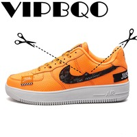 VIPBQO 2018 Fashion Trend Three color skateboard shoes Walking shoes Air force 1