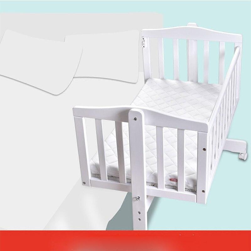 Berceau européen en bois massif bébé shaker nouveau-né berceau lit multi-fonction BB lit avec moustiquaire - 6