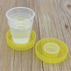 DesertCreations Folding Portable Collapsible Plastic Cups