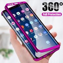 H& A Роскошный 360 Полный Чехол чехол для телефона для samsung Galaxy S10 S9 S8 Plus S7 Edge Note 9 8 10 противоударный чехол S10 lite Fundas Capa