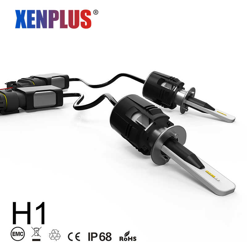 Xenplus Mini H1 LED H3 H7 H8 H11 HB3 HB4 9004 H13 9007 H4 Car light bulb 6000K 7200LM 48W 12V CSP Chip motorcycle headlight