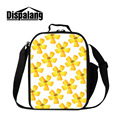 Dispalang Brand Flower Print Portable Lunch Bags For Kids Insulated Lunch Box Cooler Thermal Food Picnic Lunch Bag Bolsa Termica