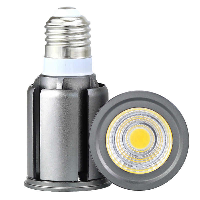 E27 E14 GU10 MR16 Led-lampen COB 9 W 12 W 15 W 20 W 25 W Dimmble Spotlight LED down Spot Verlichting Warm Wit Wit Home LED Gloeilamp