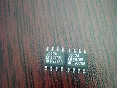 AD8512AR AD8512A AD8512AR AD8512 ultra baixo ruído chip dual amplificador operacional