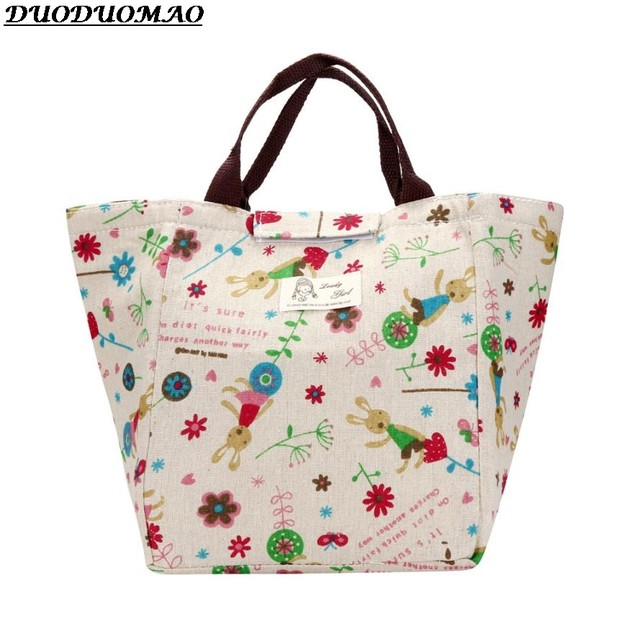 2017 New Double Insulated Handbag Las Lunch Box Thermal Containers Bags Personalized Cooler Borse Termiche
