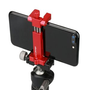 Image 4 - Ulanzi ST 03 Foldable Metal Mobile Phone Tripod Holder Mount Clamp for iPhone7 Samsung Xiaomi Smartphones