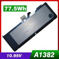 77.5WH 노트북 배터리 A1382 애플 A1286 2009 버전 맥북 프로 15