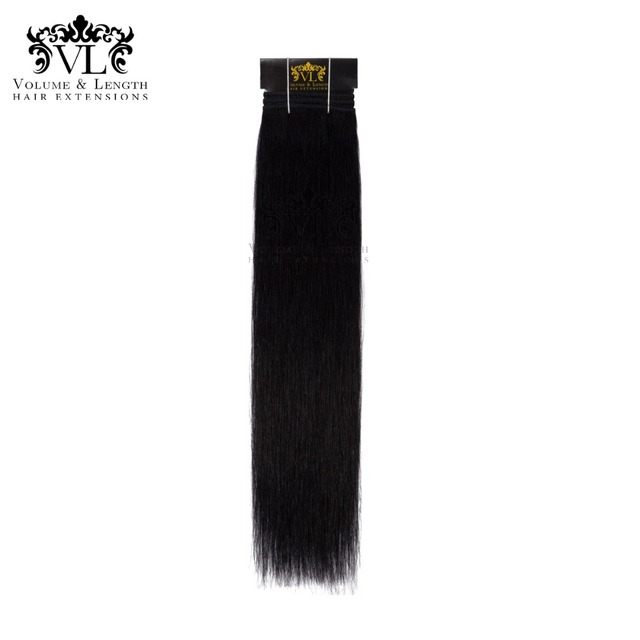 Vl Black Hair Weave 100 Remy Hair Extensions Straight Human Hair