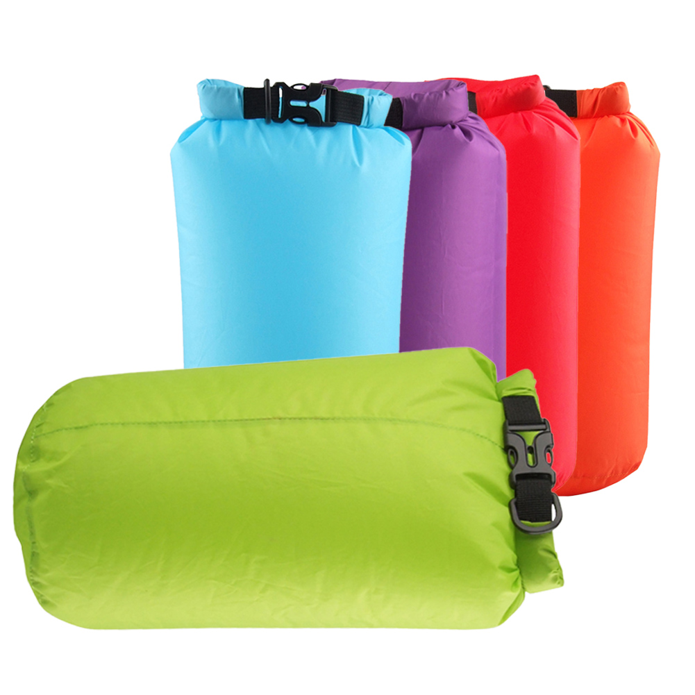 Hiking Canoeing Laundry Storage Pouch Big Size Backpack Handbag 8L Waterproof Swimming Drifting Dry Bag Outdoor Camping 5 Colors