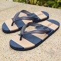 The trend of men's sandals 2016 Summer slippers pinch Metrosexual Korean slip flip flops male personality beach in the summer