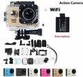 "Hero 3 style Sport Action Camera Sj4000 WiFi 1080P Full HD 1.5"" LCD Display 12MP Diving 30M Waterproof Camera Add Battery"