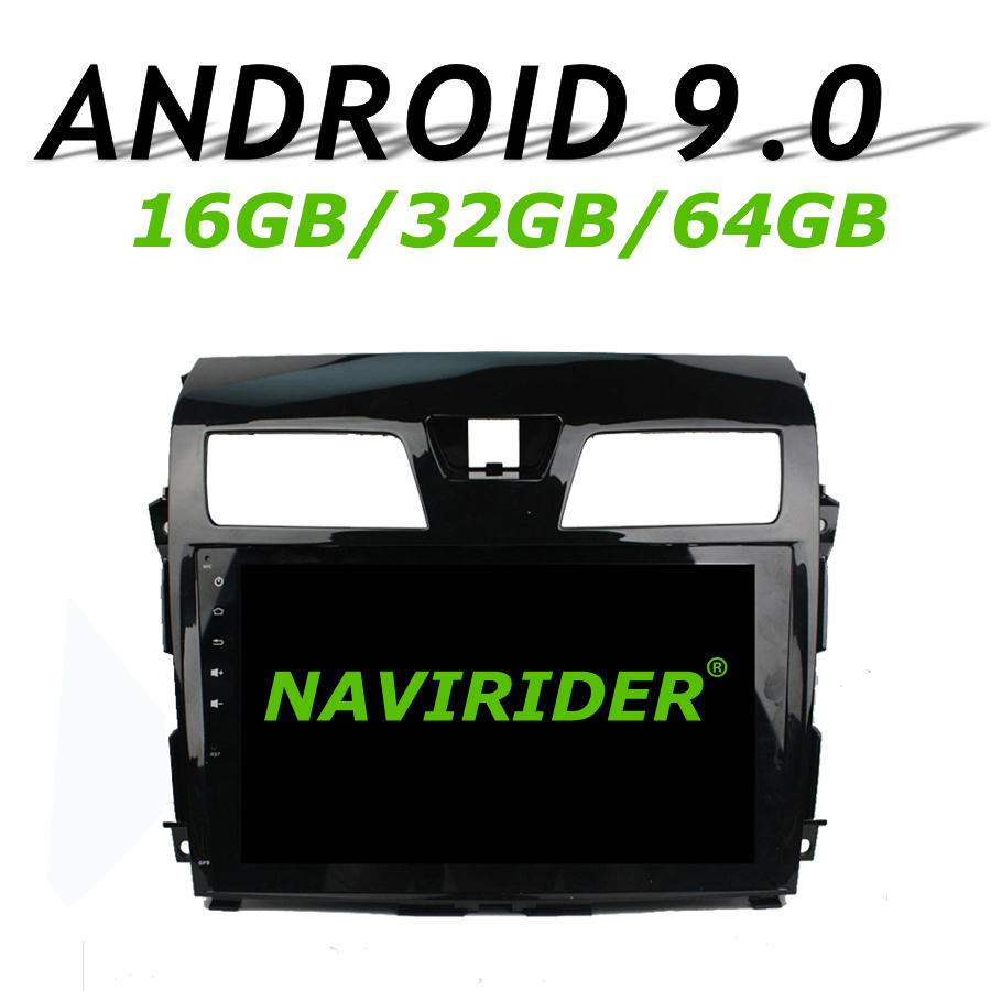 High configuration Octa Core Android 9.0 Car GPS Multimedia For Nissan Teana l33 2013 2014 Car Radio bluetooth 64GB large memory