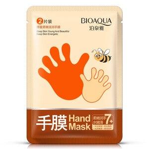 BIOAQUA 1pair Honey Hand Mask