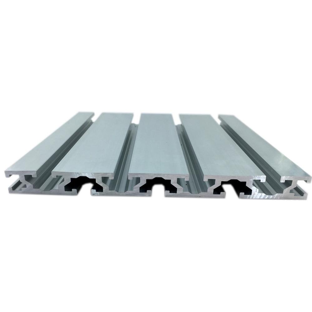 Cnc 3d Drucker Teile Europäischen Standard Eloxiert Linear Schiene Aluminium Profil Extrusion 15180 1000mm Farben Sind AuffäLlig Möbel Teile