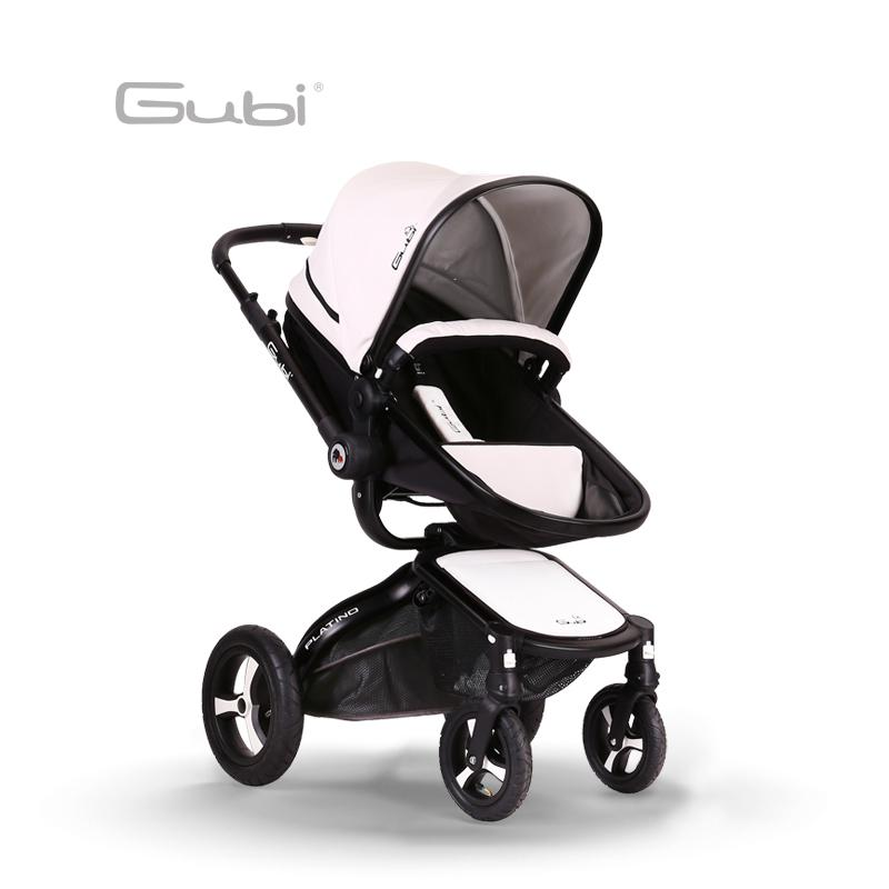 Gubi 2 in1 Baby Stroller High Landscape Light folding Children Umbrella carts Can be two-way push Baby carriage