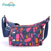 Findpop New Handbags Women Bag 2017 Famous Brands Fashion Casual Female Shoulder Bag Nylon Crossbody Bags