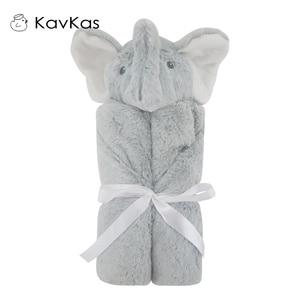 Image 5 - Kavkaz Bebek Battaniyeleri 76x76cm Bebek Yatak Kış doğum günü hediyesi Yenidoğan Yumuşak Sıcak Mercan Polar Peluş Hayvan Eğitici peluş oyuncak