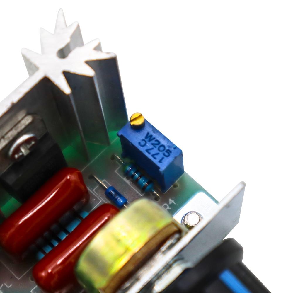 2000W tiristor electrónico Dimmer 220V silicio controlado rectificador SCR regulador de voltaje Control de velocidad termostato de temperatura