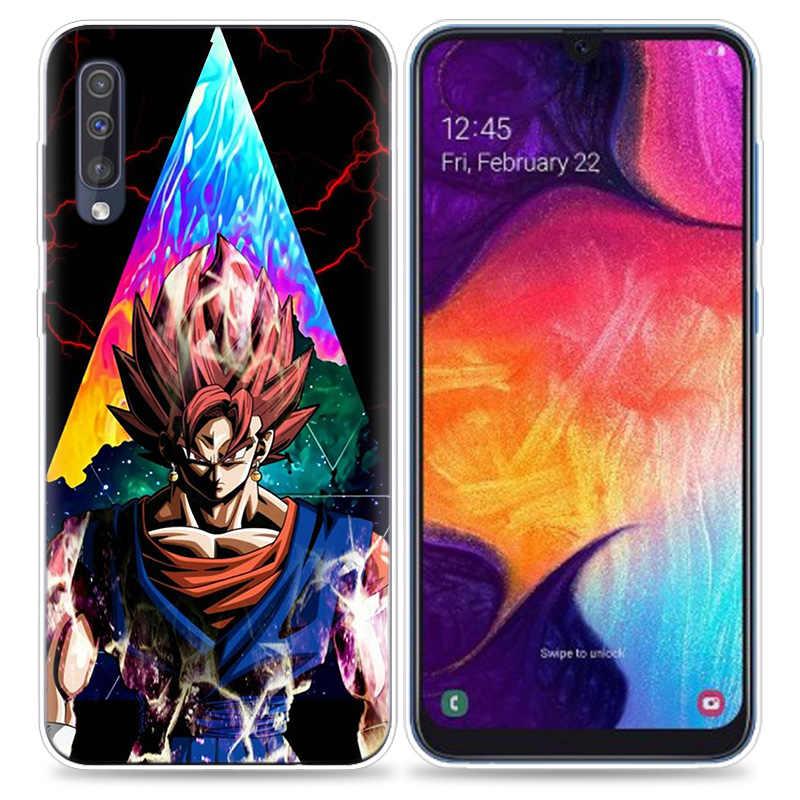 Прозрачный силиконовый чехол для samsung Galaxy A50 A70 A30 M30 M20 A10 A20 A40 M20 чехол для телефона Dragon Ball Z Tattoo