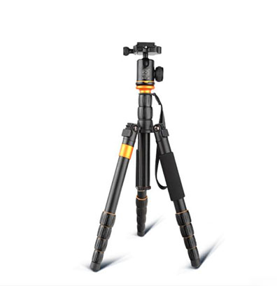 Q278 Portable Travel Photo Tripod 1330mm Camera Tripod Monopod with Detachable Ballhead Kit For Digital SLR