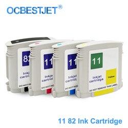 [Marka firm trzecich] dla HP 11 82 wymienny wkład atramentowy do drukarki HP designjet 111 111R (CH565A C4836A C4837A C4838A)