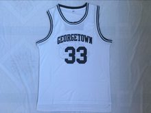 BONJEAN Mens Cheap Throwback Basketball Jerseys 33 Patrick Ewing White  Jersey Georgetown Hoyas College Retro Stitched Shirts e97a81cae