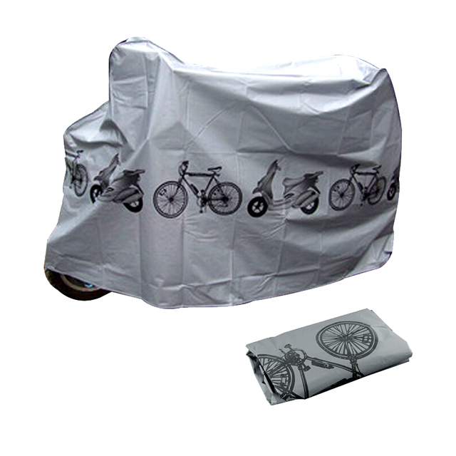 Hot sale 210*100 Bike Cycle Bicycle Protector Cover Waterproof Dustproof Rain Dust Cover Garage Scooter Motorcycle Cover 1pc