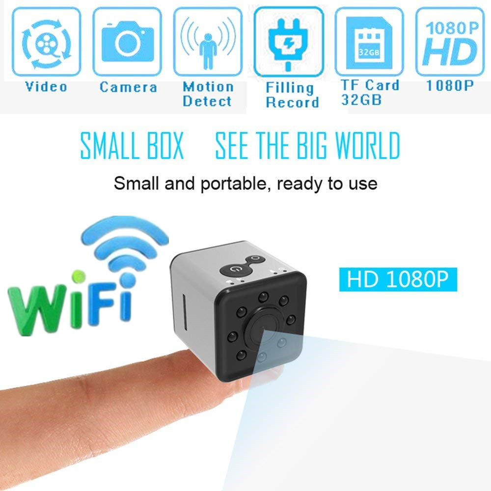 все цены на SQ13 HD mini camera WIFI small camera cam 1080P Wide Angle Waterproof MINI Camcorder DVR video Sport micro Camcorders SQ 13