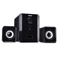 Mini USB Wired Combination Speaker Bass Stereo Music Subwoofer For Phone Laptop