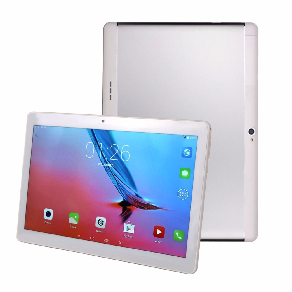 10.1 inch phone call Tablets Android 7.0 Dual SIM 3G 4G LTE Octa Core 4GB RAM 32GB ROM 1280*800 IPS Kids Gift Tablets 10 Wifi free shipping 10 inch tablet pc 3g phone call octa core 4gb ram 32gb rom dual sim android tablet gps 1280 800 ips tablets 10 1