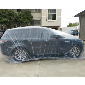 Disposable Waterproof Transparent Plastic Dustproof Car Rain Covers