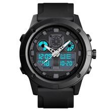 цена на Time Secret college student watch fashion trend dual time alarm luminous waterproof sports men's digital wristwatches