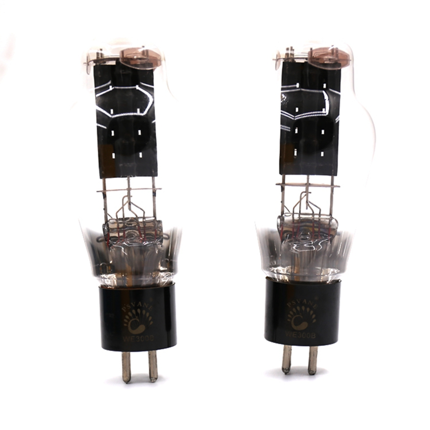 PSVANE WE300B Treasure Tube Matched Pair Western Electric Replica Tested and replace JJ Western Electric shuguang 300B 1 matched pair psvane kt88 t mark ii vacuum tube new treasure factory tested matched pair